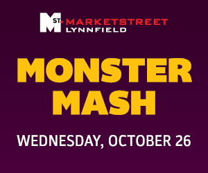 Marketstreet Lynnfield Monster Mash for northshore children and families including Shopping, Dining, Entertainment
