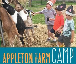 Appleton Farms in Ipswich Massachusetts offers farm-based Summer Programs for kids ages 5-15