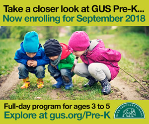 Preschool, PreK enrollment at Glen Urquhart School in Beverly MA