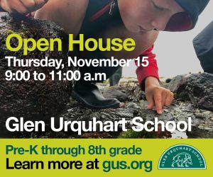 Glen Urquhart School Open House Pre-K through 8th grade in Beverly MA