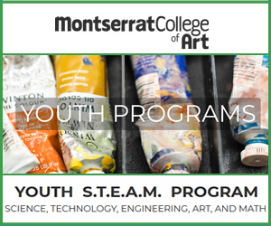 Youth programs at Montserrat College of Art in Beverly. North shore families.