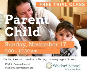 Child Parent classes at Moraine Farm