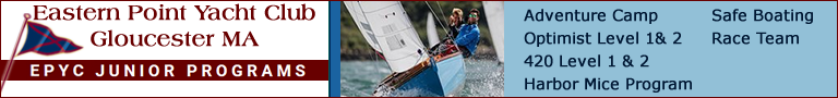 Sailing Programs for Kids in Gloucester MA