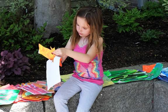 CAM Kids at Cape Ann Museum Gloucester Watercolor Wednesdays