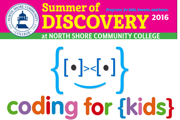 North Shore Community College Youth Programs and Kids to College Programs. Summe