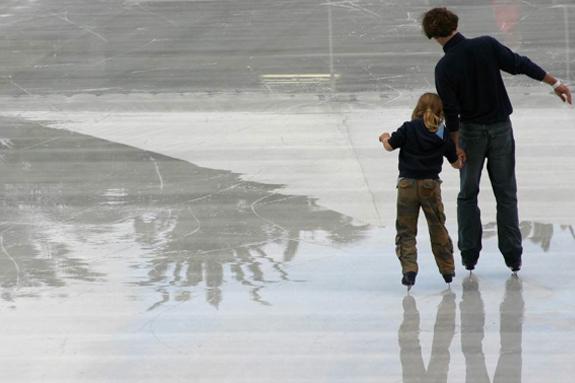Amesbury Town Park Ice Skating