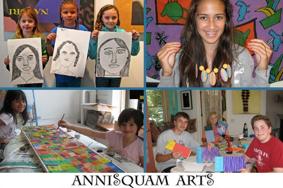 Summer Art and Photography Program for Kids on Cape Ann
