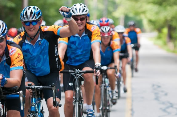 The Pan Mass Challenge leads the pack in Cacer Research Fundraising!