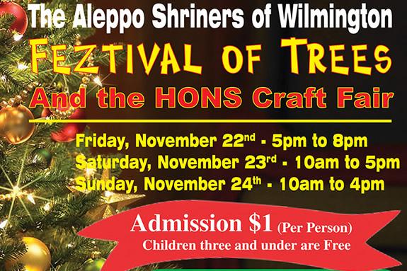 Aleppo Shriners Festival of Trees