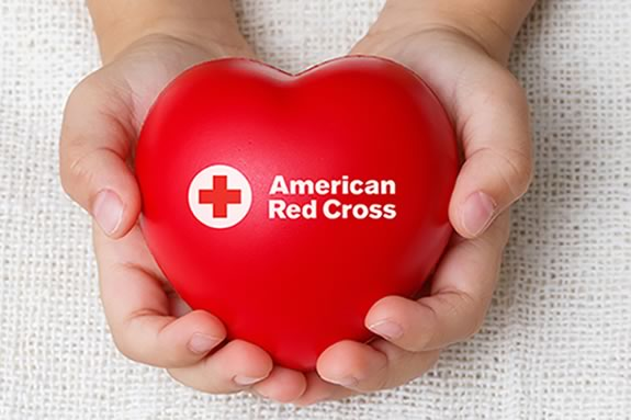 Give Blood when the Red Cross Blood Mobile comes to Sawyer Free Library in Gloucester
