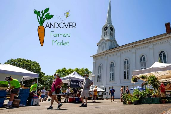Find Fresh Local Produce at the Andover Massachusetts Farmers Market North of Boston