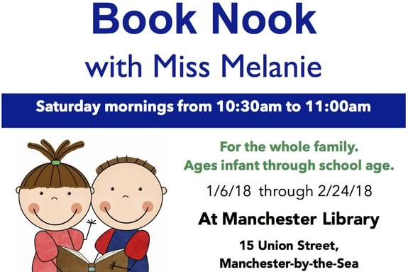 Book Nook with Miss Melanie at Manchester Public Library