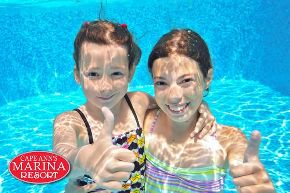 It's Family Night in the Aqua Room every Tuesday night from 5-8pm at Cape Ann Marina