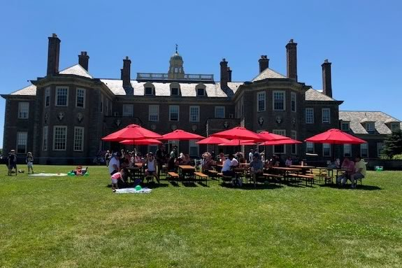 Come to the Notch Brewery Biergarten at the Trustees of Reservations' Castle Hill on the Crane Estate in Ipswich Massachusetts