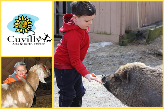 Cuvilly Arts and Earth Center for Children in Ipswich MA