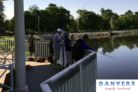 The Michael Gordon Fishing Derby is an annual event during the Danvers Family Festival!