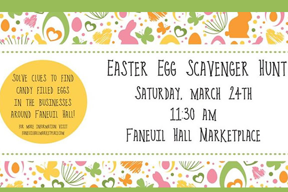 Faneuil Hall Marketplace Events Easter Egg Scavenger Hunt