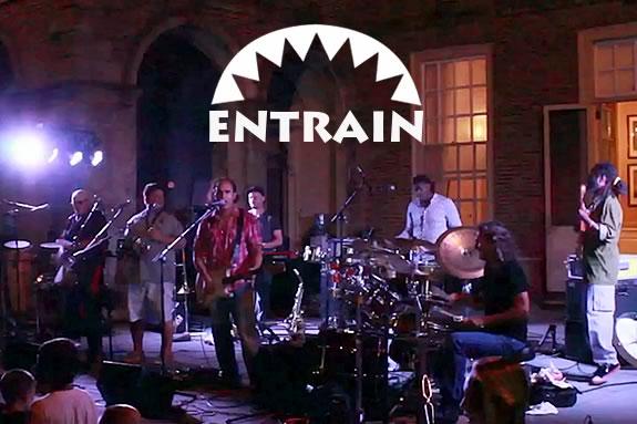 Entrain will perform at Mascanomo Park on July 3, 2019