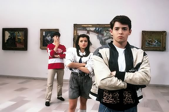 Plum Island Drive-In Fundaraiser for Newburyport Youth Services featuring 'Ferris Bueller's Day Off'