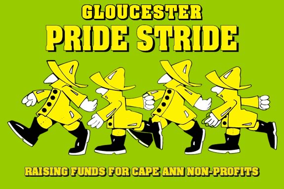 The annual Gloucester Pride Stride raises money for Cape Ann non-profits!