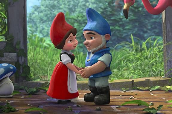 Gnomeo and Juliet at the Ipswich Center for Performing Arts during February Vacation