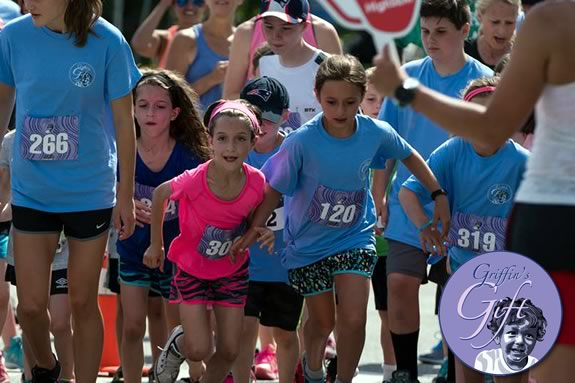 Griffin's Gift Fund charity walk run fundraiser during the Danvers Family Festival