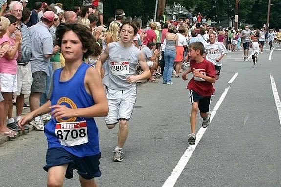 The 26th Annual High street Mile includes categories for kids races!