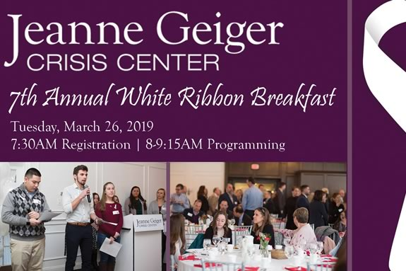 Jeanne Geiger Crisis Center and Girls Inc of the Seacoast host the 7th Annual White Ribbon Breakfast at the Black Swan Country Club