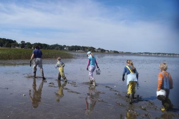 Explore the marsh and mud at Joppa Flats Education Center in Newburyport!