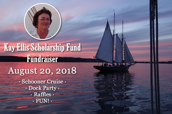The Kay Ellis Scholarship Fundraiser Sail and Dock Party August 20, 2018