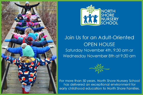 Preschool Open House for NorthShore Parents of Preschool Children