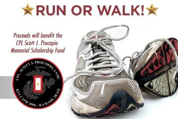 Start Your Memorial day with a run/walk to honor a local veteran