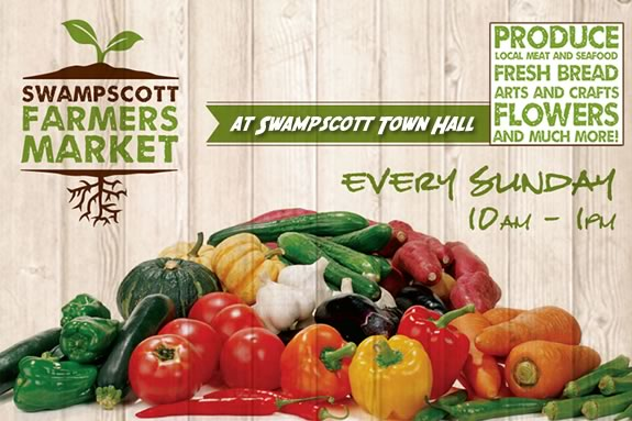 The Swampscott Farmers Market happens every Sunday through October.