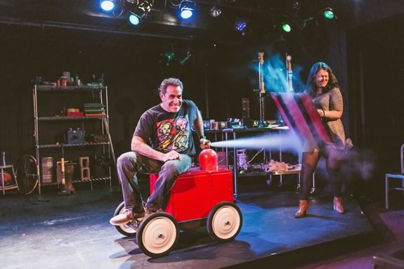 That Physics Show comes to the Cabot Theater in Beverly Massachusetts
