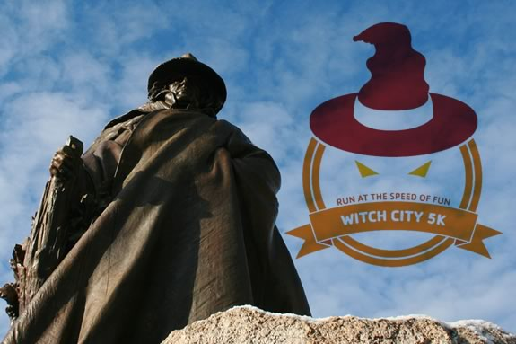 Witch City 5k - a YMCA 5k costume run in downtown Salem Massachusetts!