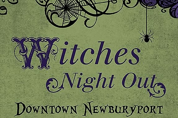 Adults celebrate Halloween at Witches Night Out in Newburyport!