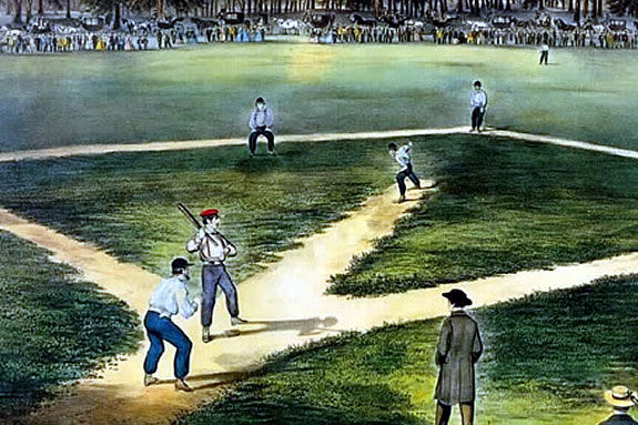 Come see how baseball used to be played at the Ipswich Museum, Whipple House