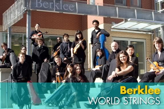 Berklee World Strings will perform at the Shalin Liu Center in Rockport