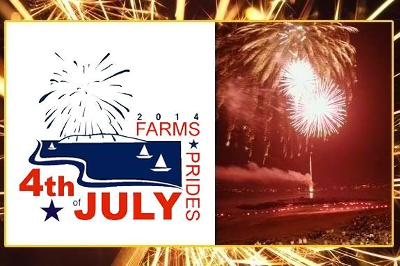 West Beach Fireworks July 4, 2014. Celebrate July 4th in Beverly Farms!