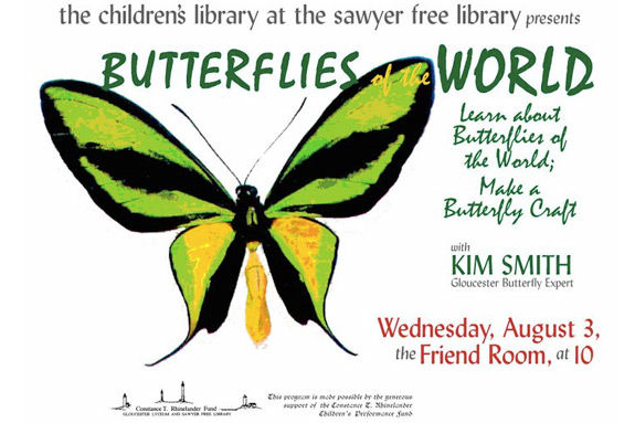 Kim Smith teaches North Shore children and families about butterflies