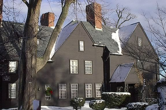 Christmas Tours at the House of Seven Gables run daily through New Years Eve.