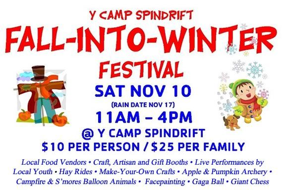 Fall into Winter with the Cape Ann YMCA and help raise funds for Camp Spindrift!