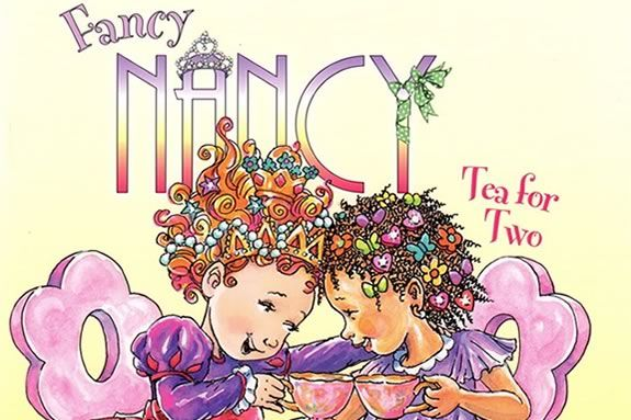 Come to Mimi's Italian Cookies in Newburyport for a Fancy Nancy themed party!