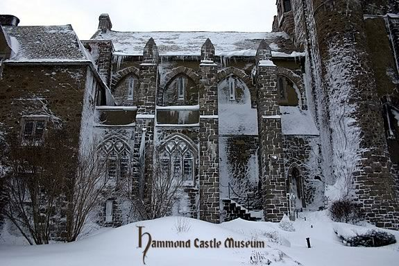 Hammond Castle will be open during February vacation 2013.