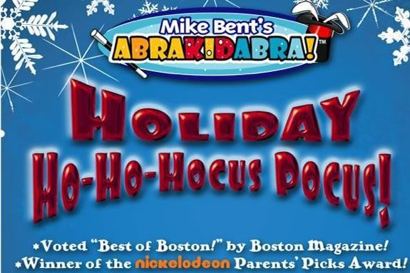 Mike Bent will perform his Ho-Ho-Hocus Pocus show at Sawyer Free Library!