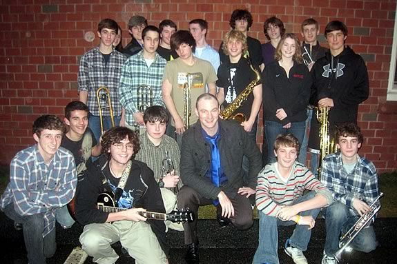 Ipswich Jazz Project teams up with Ipswicvh High Jazz Ensemble at Crane Castle