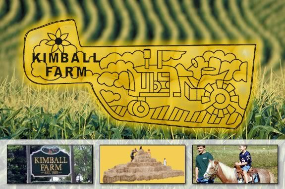 Kimball Farm will use a tractor as a shape for their 2012 Maze!