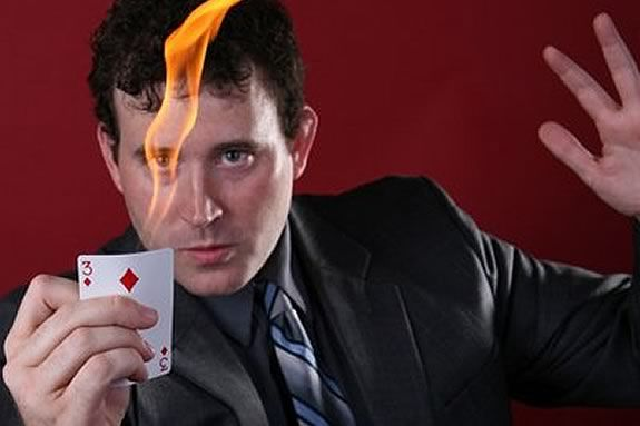 Matthew Graham will perform magic during the Middle Street Walk at Sawyer Free