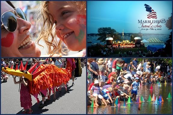 There's plenty to see and do for kids at the Marblehead Art Festival!
