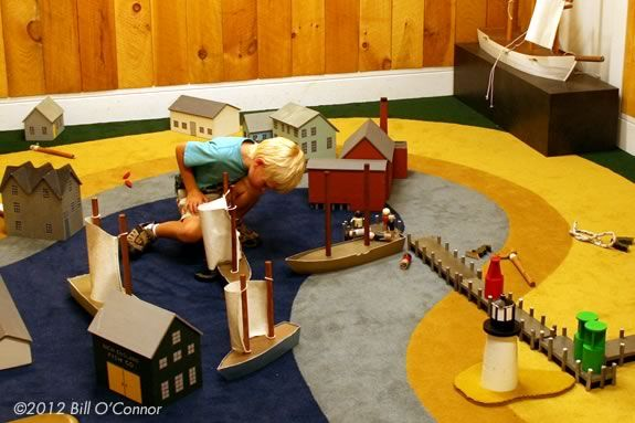 The Children's Room Maritime Gloucester is a great place to play and read!